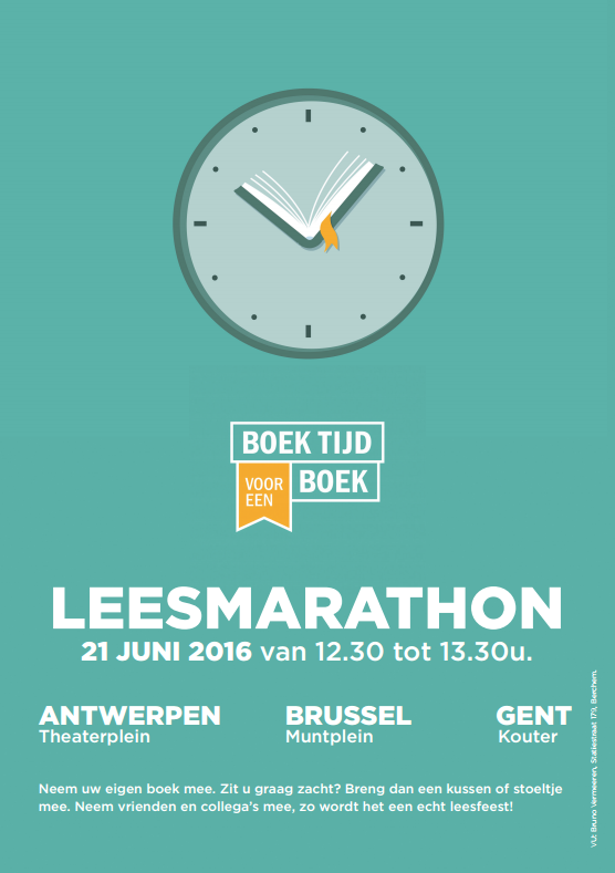 Boek tijd voor een boek - Doe mee met de leesmarathon!
