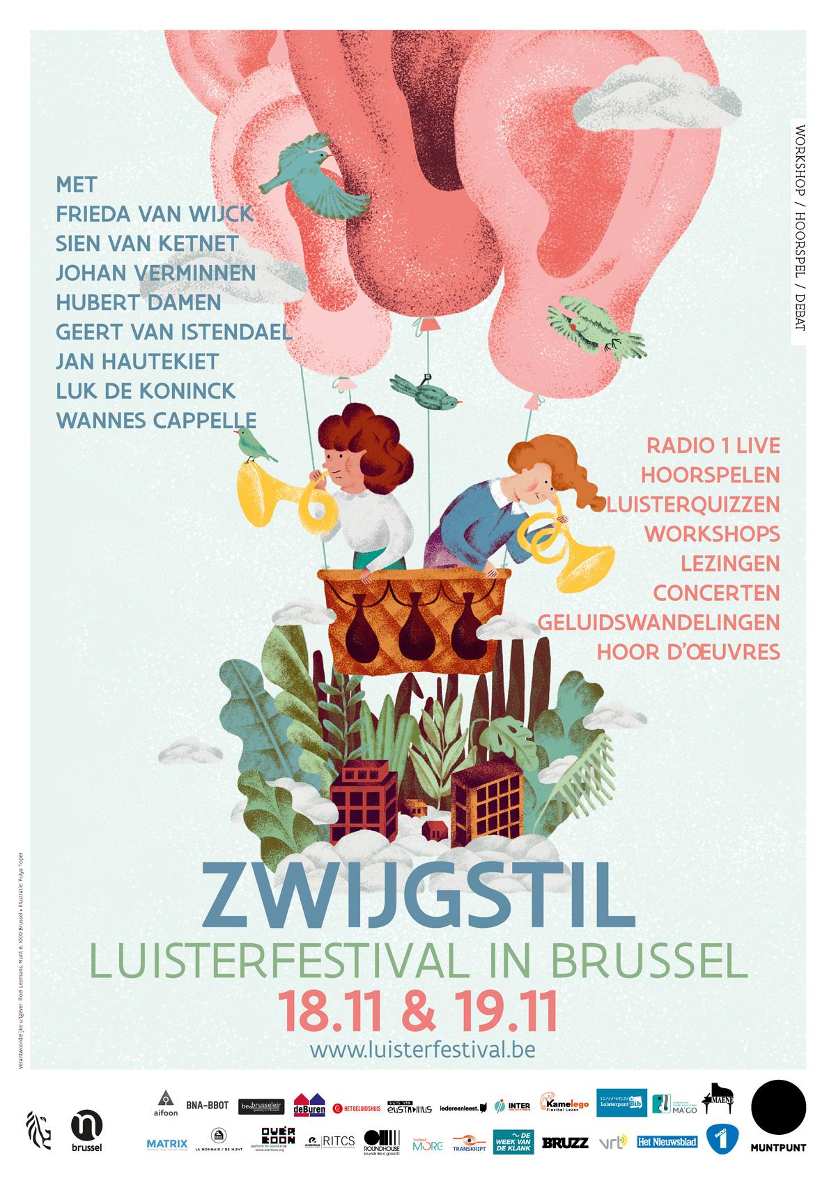 Zwijgstil: luisterfestival in Brussel