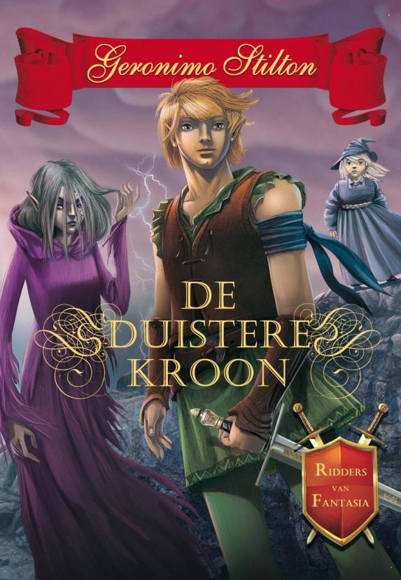 cover Geronimo Stilton - De duistere kroon