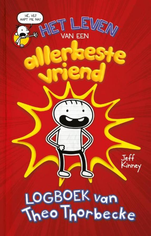 cover Jeff Kinney - Logboek van Theo Thorbecke